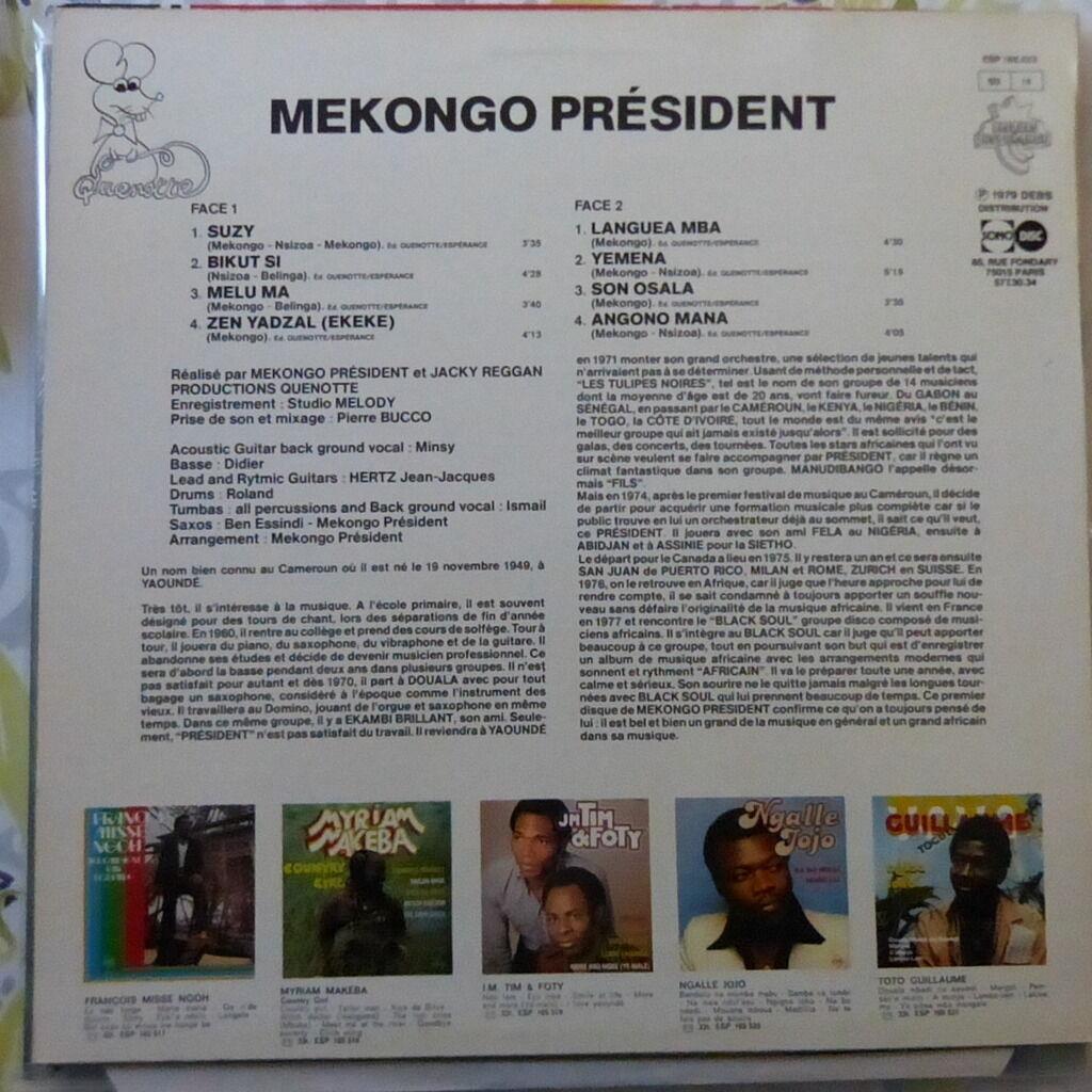 MEKONGO PRESIDENT MEKONGO PRESIDENT