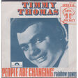 TIMMY THOMAS - PEOPLE ARE CHANGIN' - 45T (SP 2 titres)