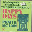 PRATT & MCLAIN - HAPPY DAYS - 45T (SP 2 titres)