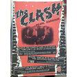 the clash + pearl harbor 1981 ( orig. concert poster tour spain)
