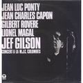 jef gilson, jean luc ponty, jc capon, g. rovere... concert à la m.j.c. colombes
