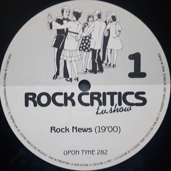 Rock Critics T.V. Show