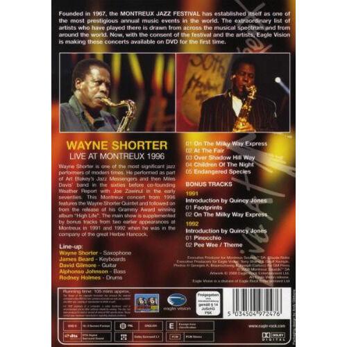 Wayne Shorter Live At Montreux 1996