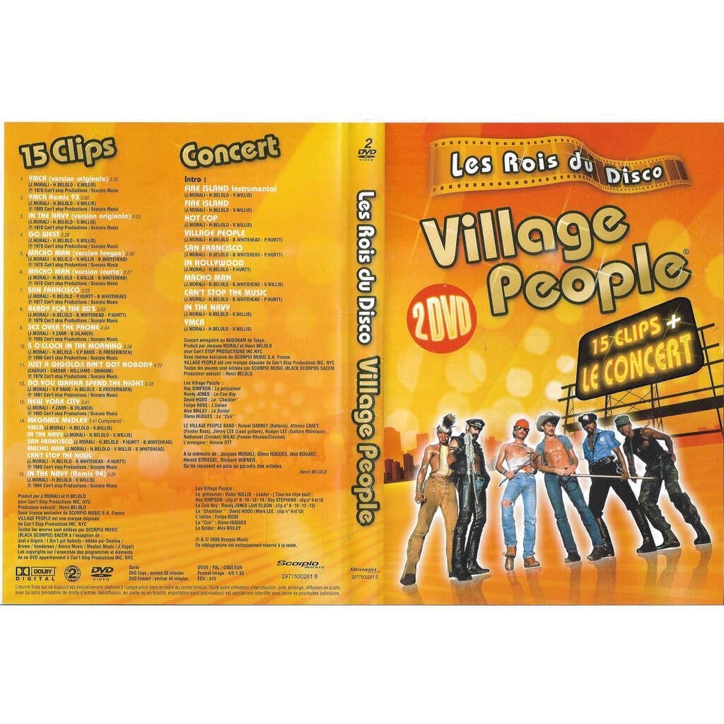 village people les rois du disco 15 clip +le concert