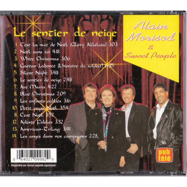 alain morisod sweet people les grandes chansons - le sentier de neige - box 2 cd