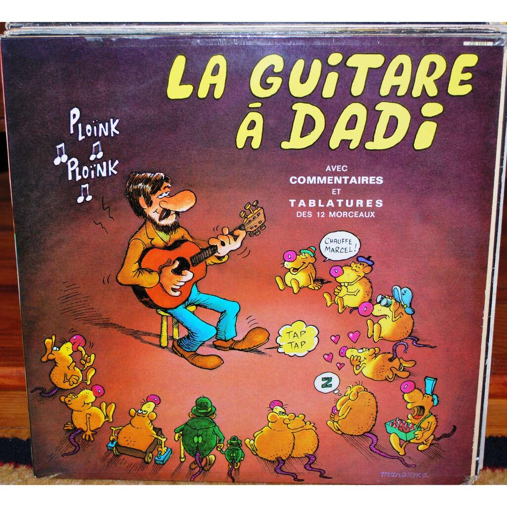 DADI Marcel La guitare à Dadi