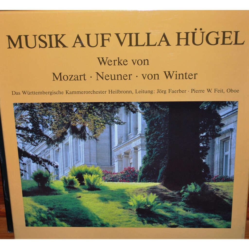 MUSIK AUF VILLA HÜGEL Mozart / Neuner / Von Winter