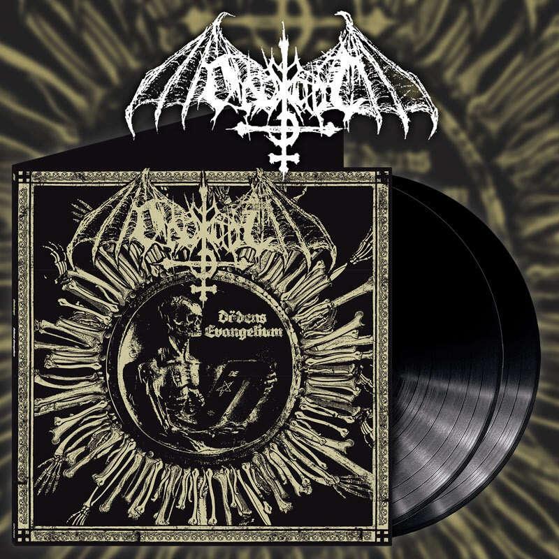 ONDSKAPT Dödens Evangelium. Black Vinyl