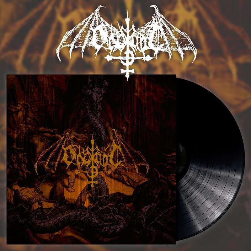 ONDSKAPT Arisen from the Ashes. Black Vinyl