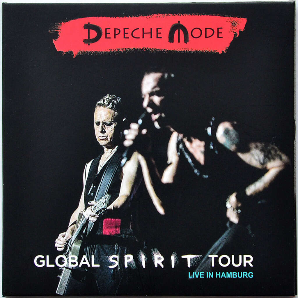 DEPECHE MODE Live In Hamburg Germany 2018 Global Spirit Tour 2CD