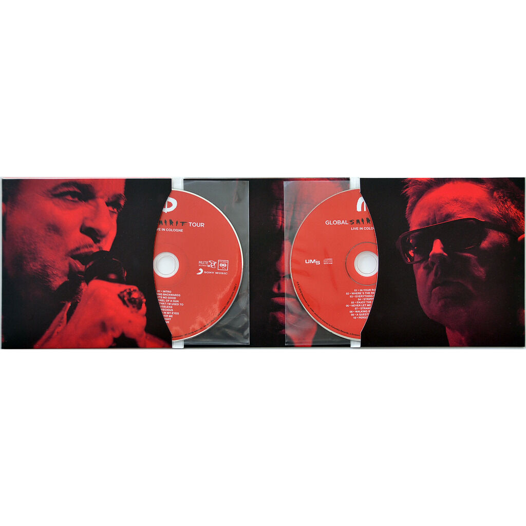 DEPECHE MODE Live In Cologne Germany 2018 Global Spirit Tour 2CD