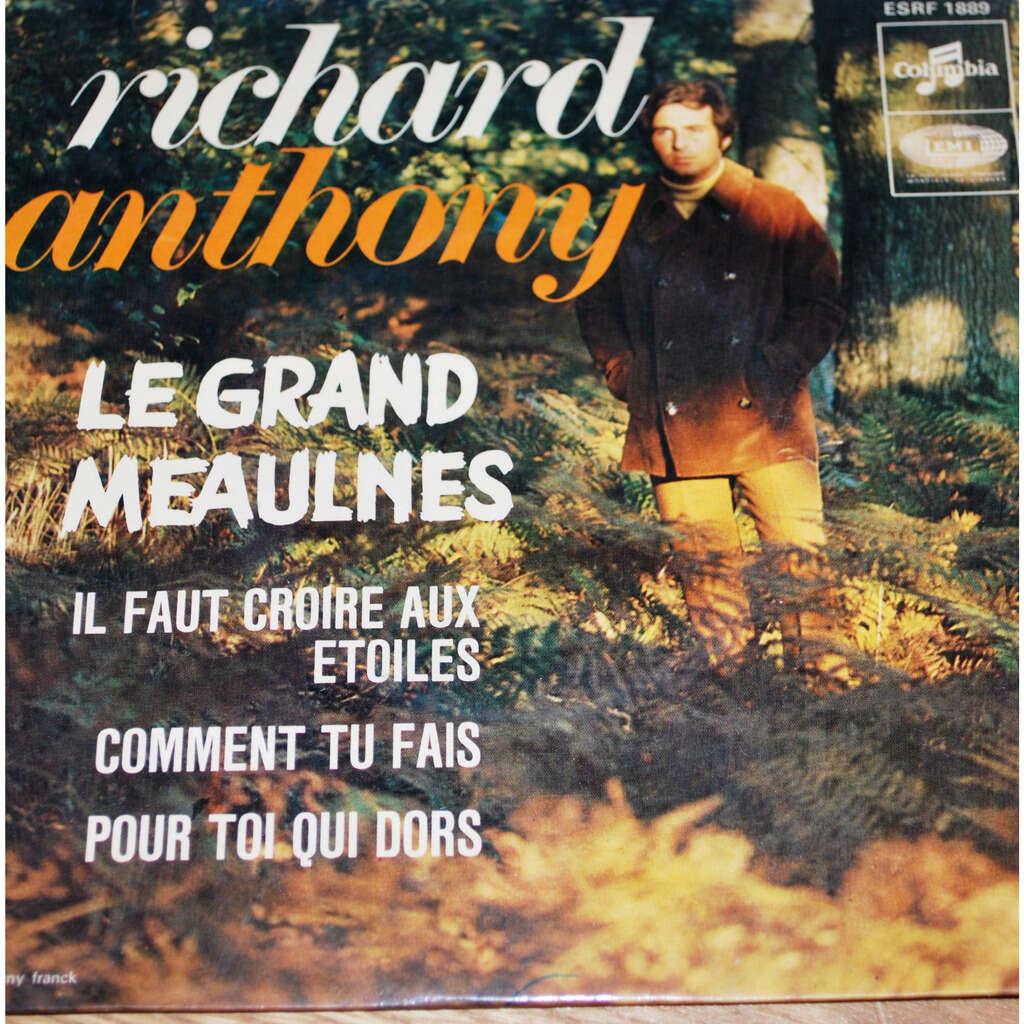 ANTHONY Richard Le grand Meaulnes