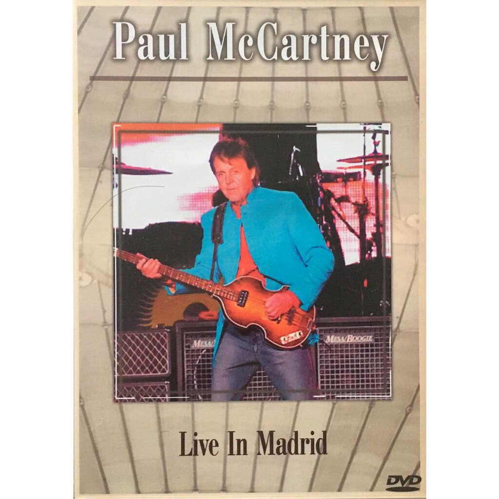 BEATLES / PAUL McCARTNEY - LIVE IN MADRID (ESTADIO LA PEINETA, MADRID, SPAIN, MAY, 30, 2004)
