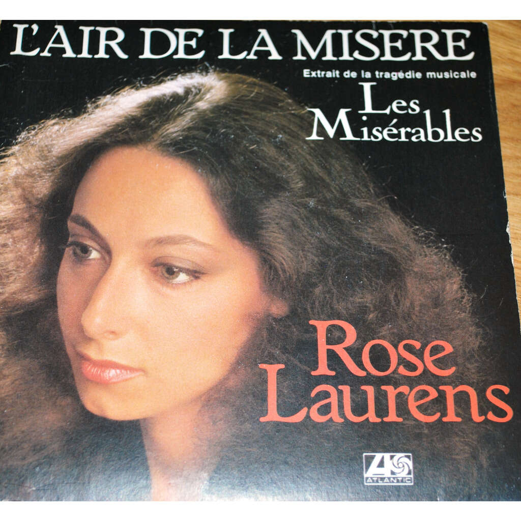 LAURENS Rose L'air de la misère