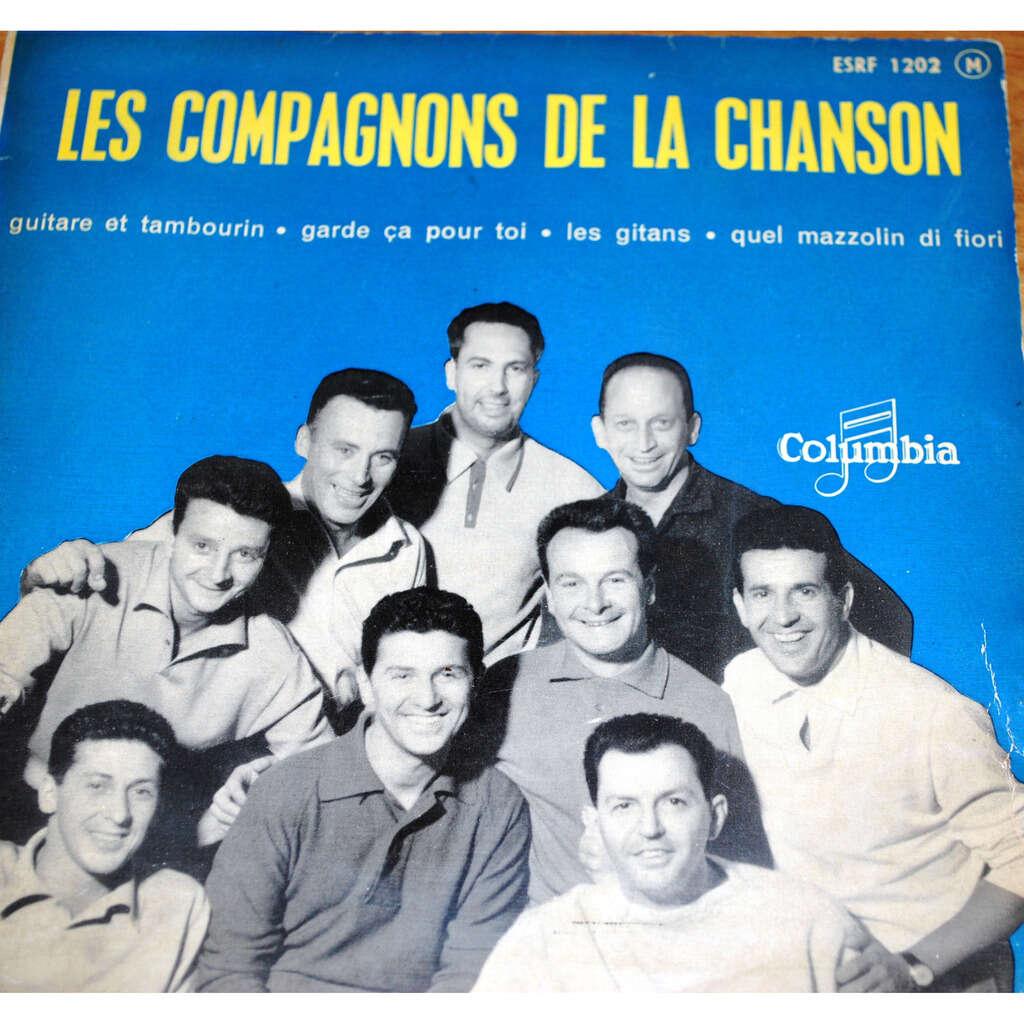 LES COMPAGNONS DE LA CHANSON Guitare et tambourin