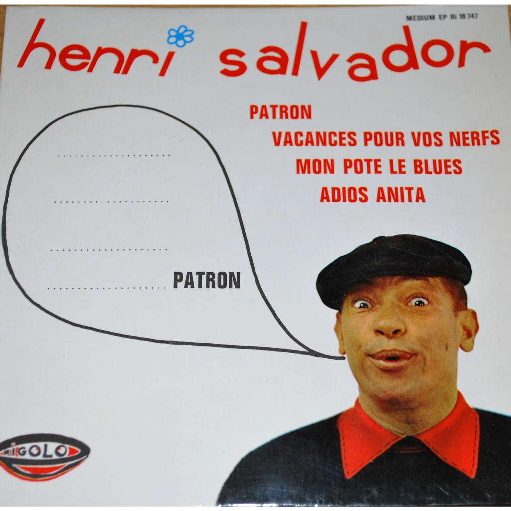 SALVADOR Henri Patron