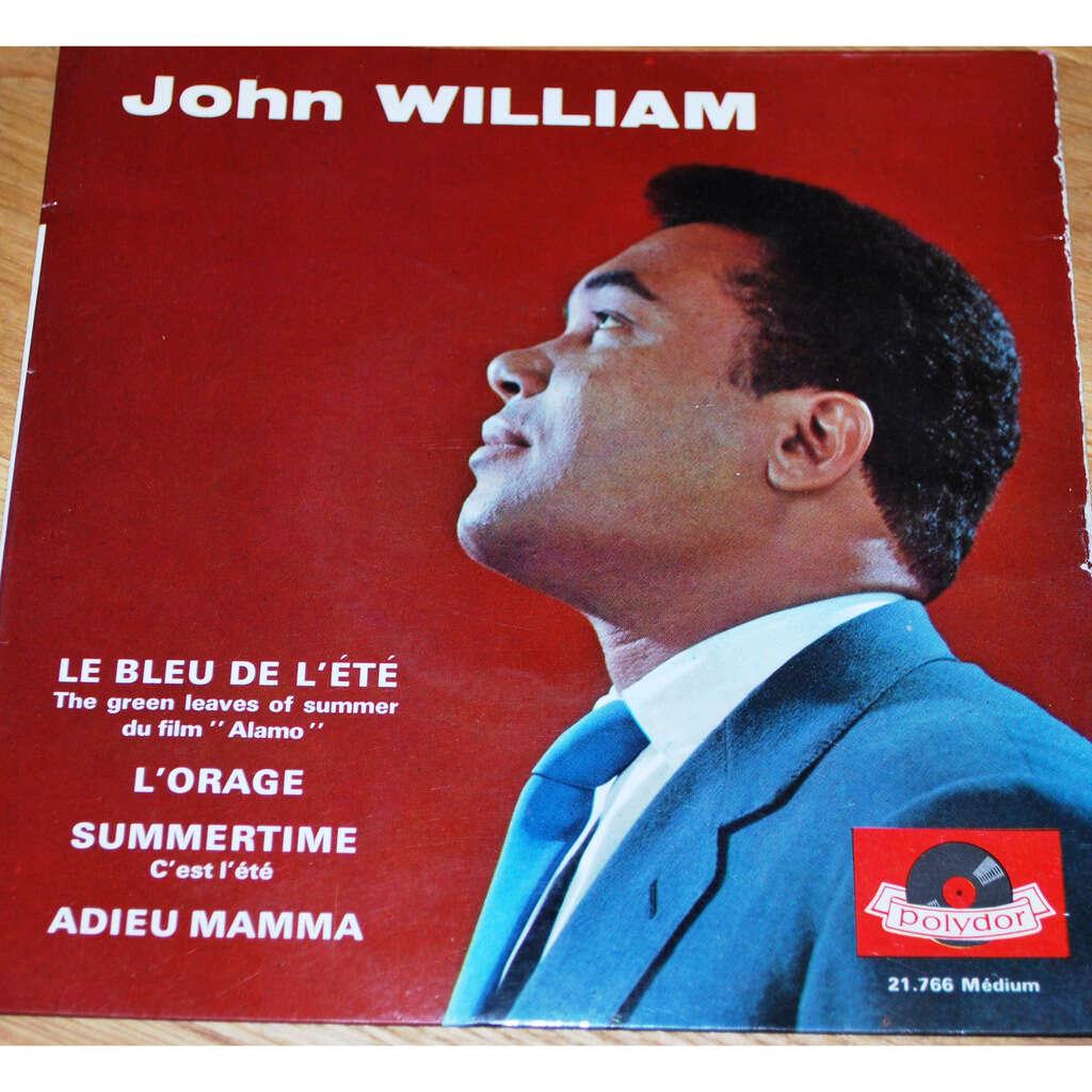 WILLIAM John Le bleu de l'été