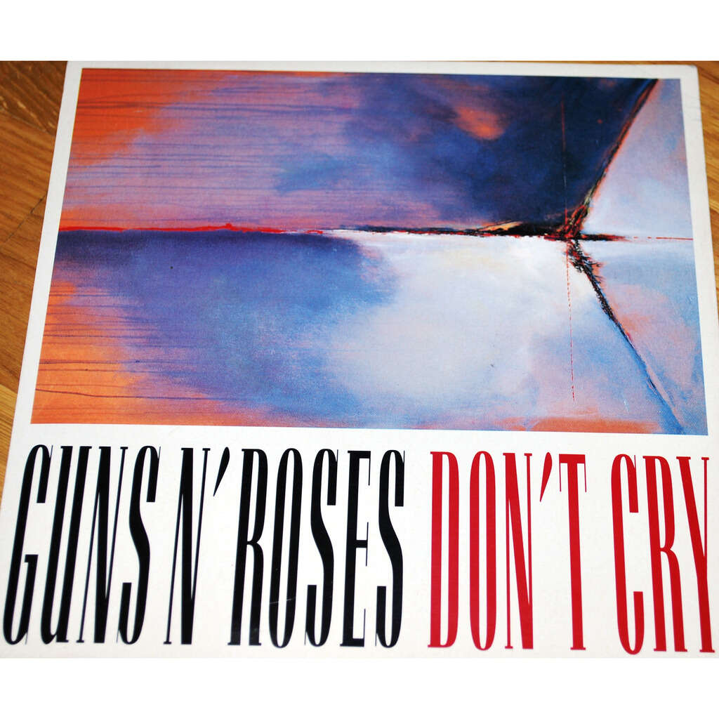 GUNS'N ROSES Don't cry