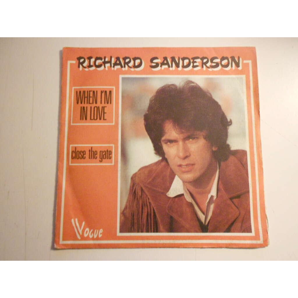 richard sanderson when i'm in love § close the gate