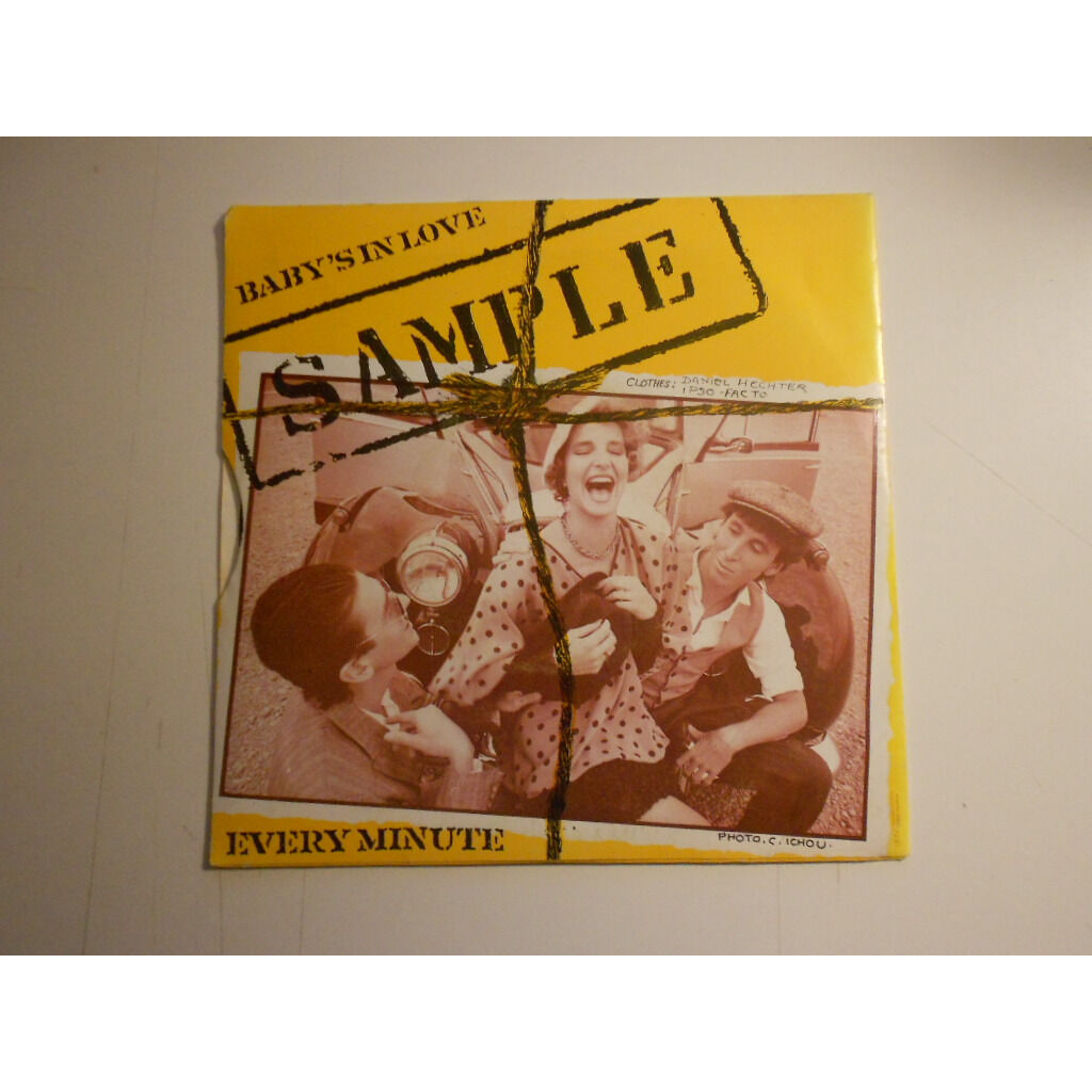 sample every minute § baby's in love