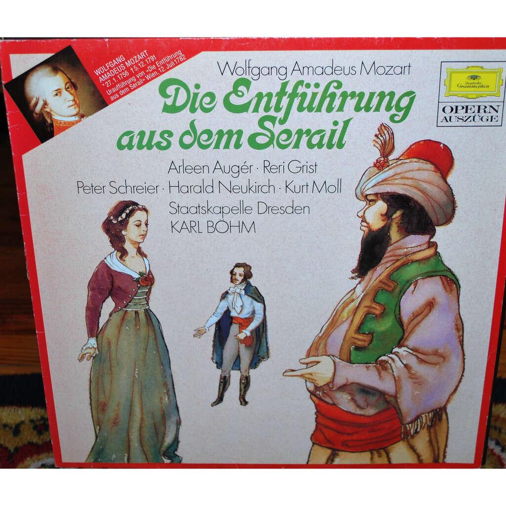 MOZART Wolfgang Amadeus ( Karl BÖHM ) Die Entführung aus dem Serail ( l'enlèvement au sérail )