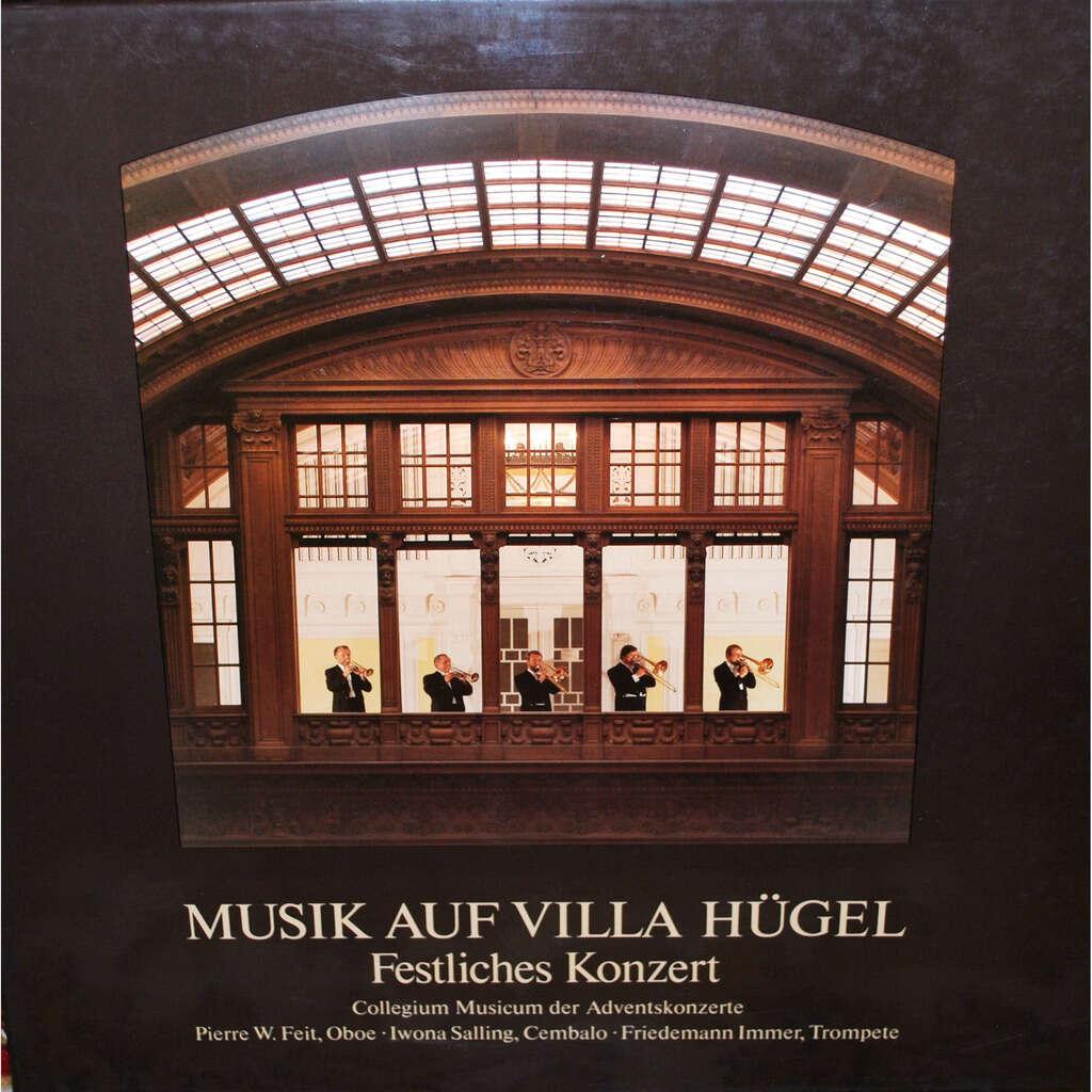 MUSIK AUF VILLA HÜGEL Festliches Konzert