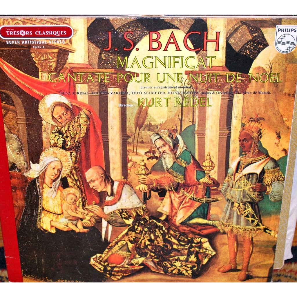 BACH Jean sébastien Magnificat - Cantate pour une nuit de Noël