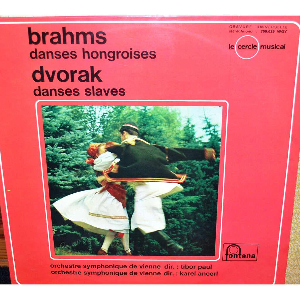 Orchestre symphonique de Vienne ( TIBOR/KAREL ) BRAHMS / DVORAK
