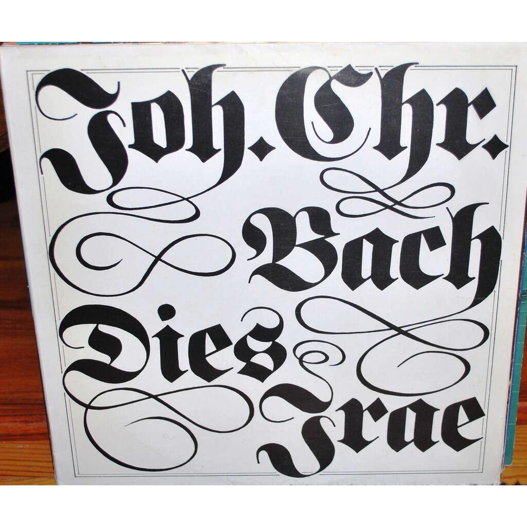 BACH Johann Christian Dies irae in C moll
