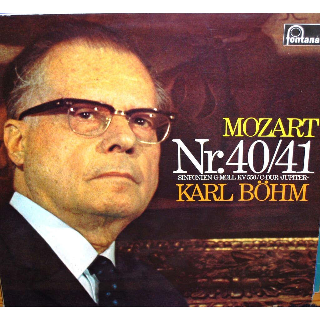 MOZART Wolfgang Amadeus Nr. 40/41 ( Karl BÖHM )