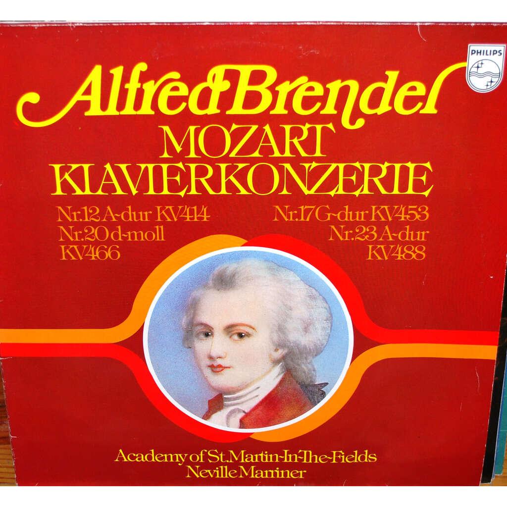 MOZART Wolfgang Amadeus Klavierkonzerte ( Alfred BRENDER )