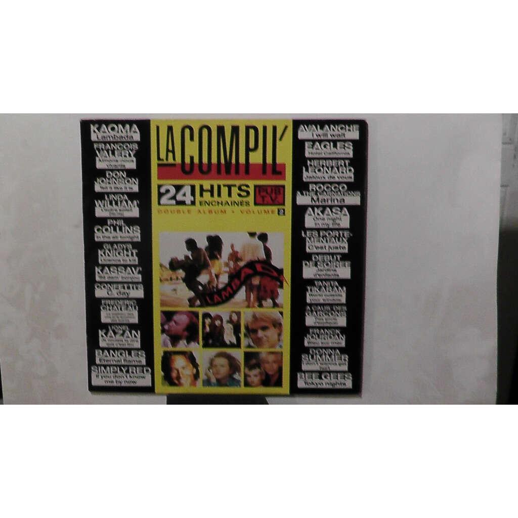 LA COMPIL' 24 HITS ENCHAINES.VOL 2