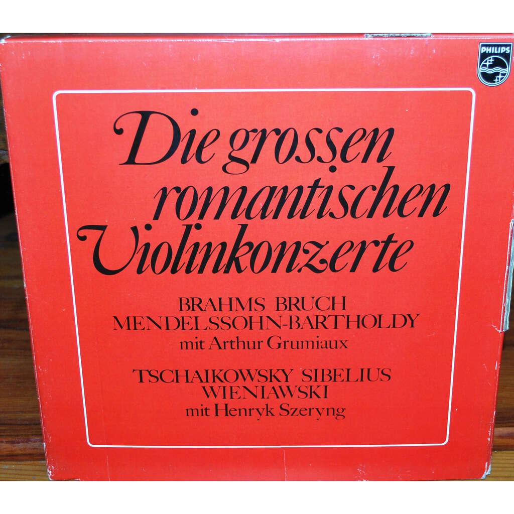 VARIOUS Die grossen romantischen violinkonzerte