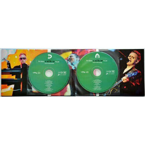 DEPECHE MODE Live In Bologna Italy 2017 Global Spirit Tour Bonus 2CD Digipack