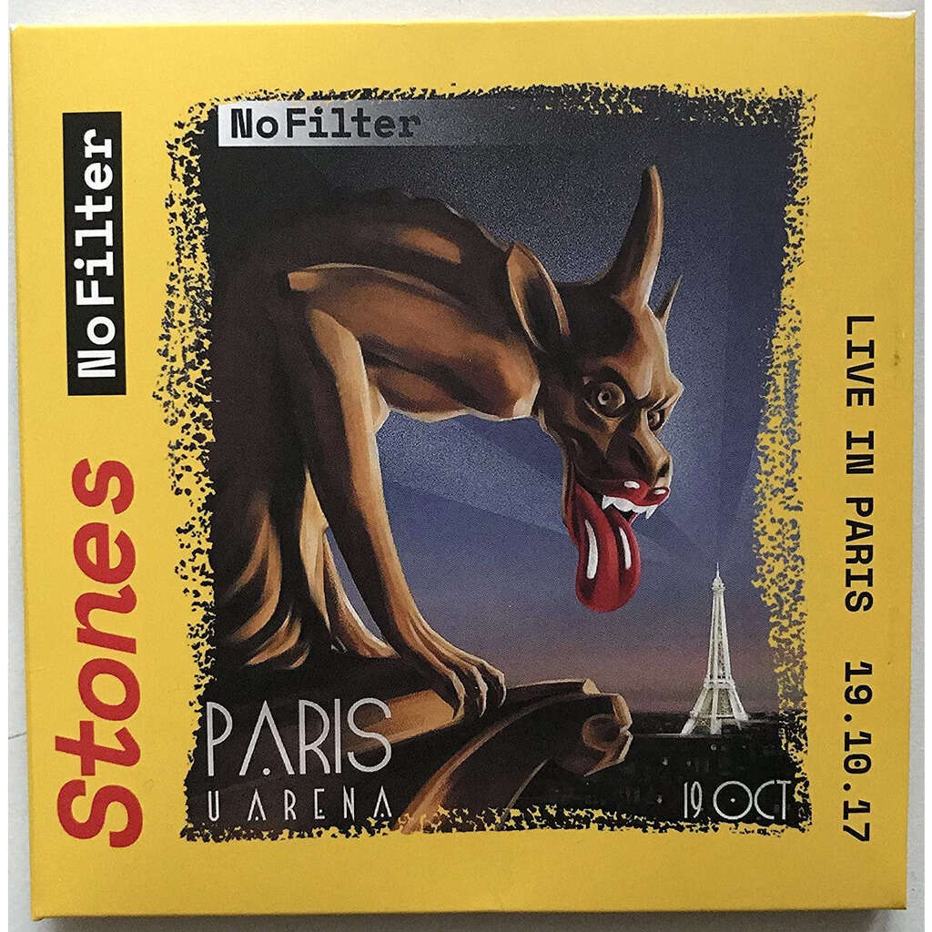 THE ROLLING STONES Live In Paris France 19 October 2017 No Filter Tour 2CD Digisleeve