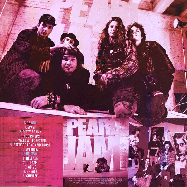 Pearl Jam Ten Naked - The Outtakes Lp