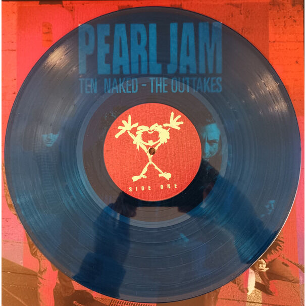 Pearl Jam Ten Naked - The Outtakes Lp (Second Edition)