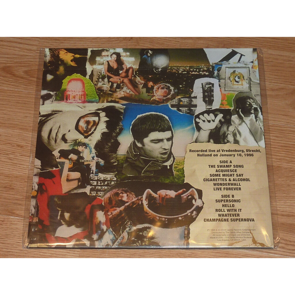 OASIS YEARS ARE FALLING BY LIKE RAIN LP