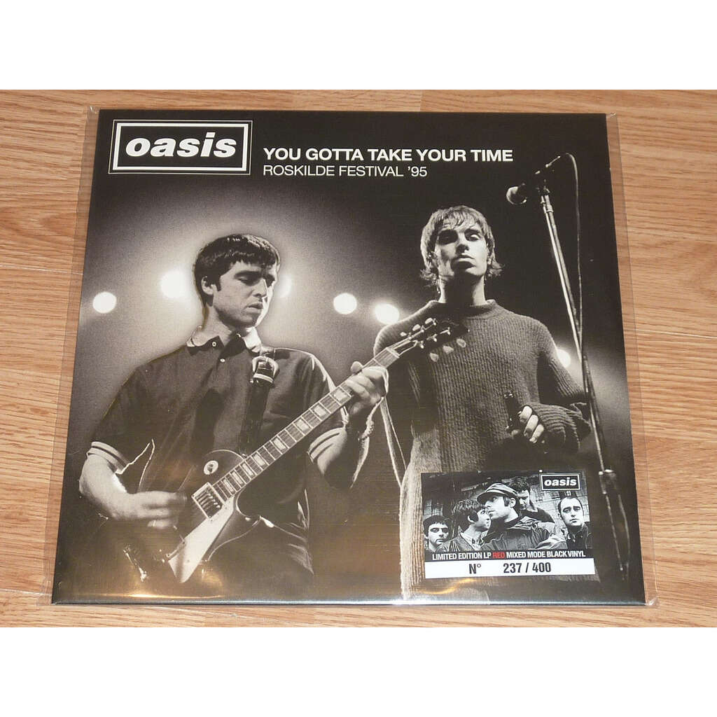 Oasis You Gotta Take Your Time Lp