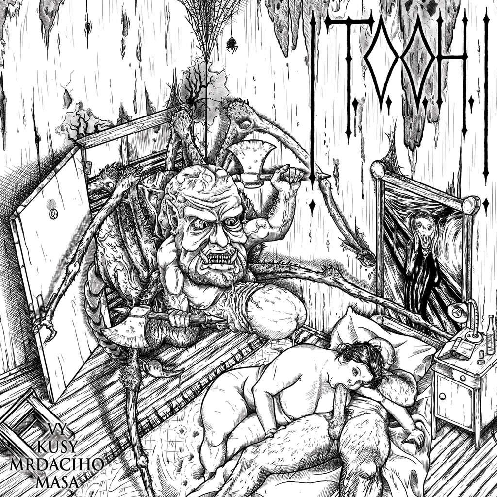 """Facthedral's Hall : !T.O.O.H.! """"Vy Kusy Mrdacího Masa"""" - CD"""