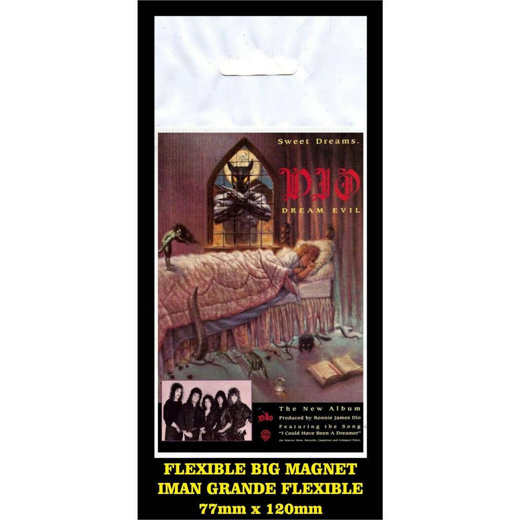 Dio Dream Evil flyer reproduction imán Premium BIG magnet AIMANT