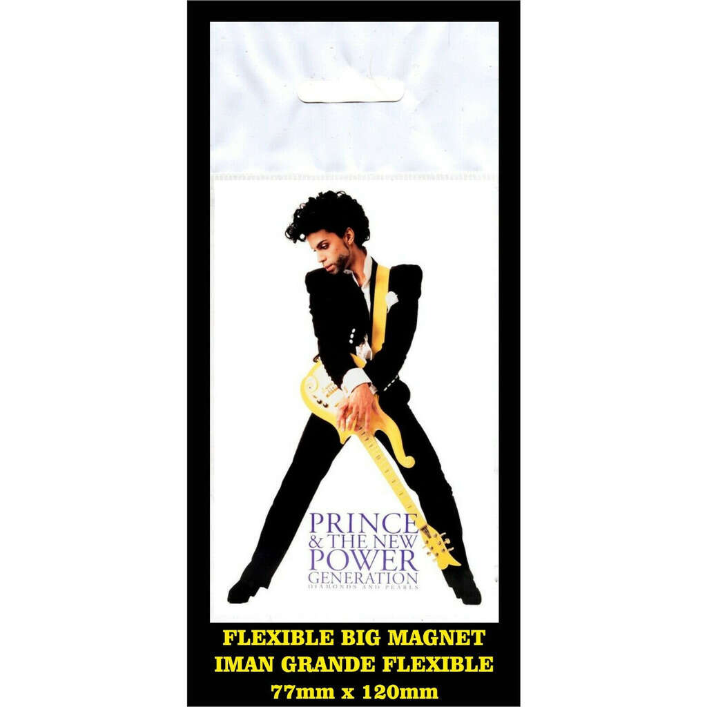 Prince and the New power Generation flyer advertising imán Premium BIG magnet AIMANT