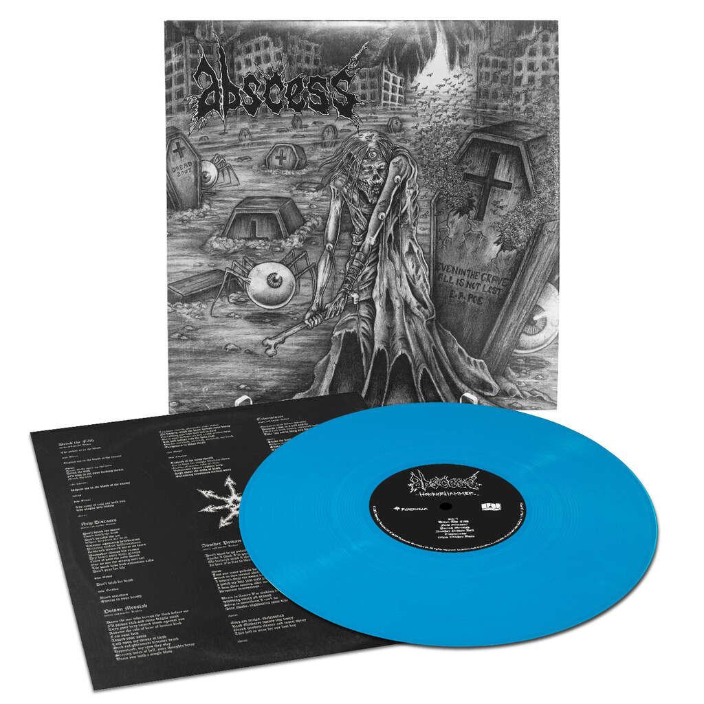 ABSCESS Horrorhammer. Blue Vinyl