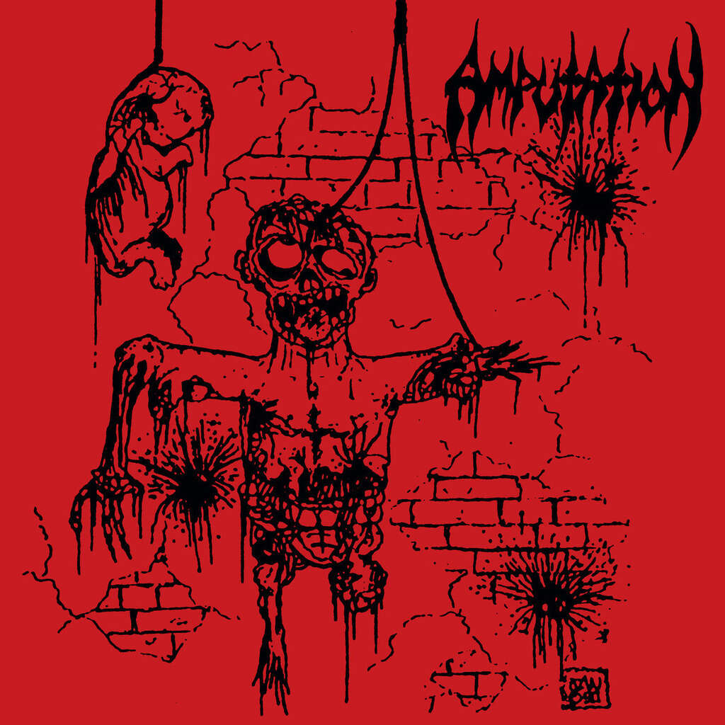 AMPUTATION Slaughtered in the Arms of God. Black Vinyl