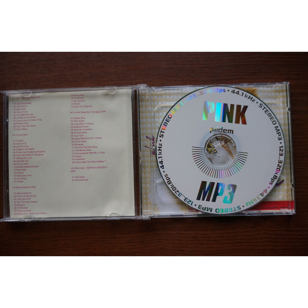 p!nk (pink) MP3 Collection