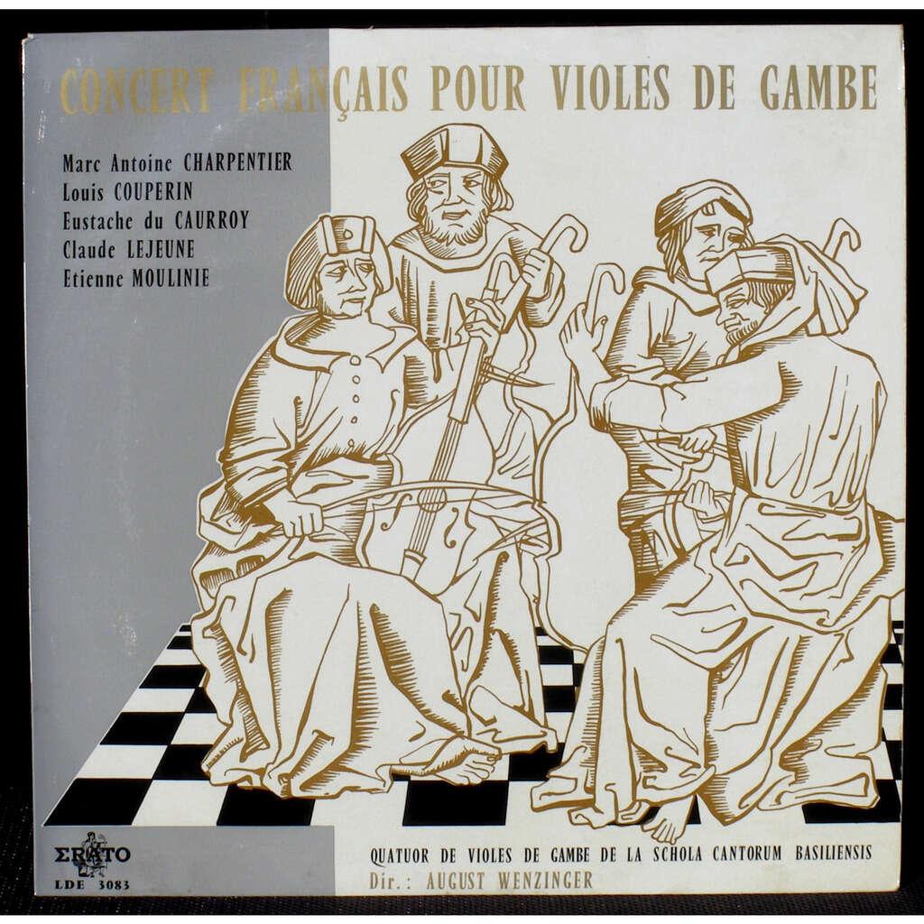 Wenzinger Concert français pour violes de gambe - Cleaned by Clearaudio machine.