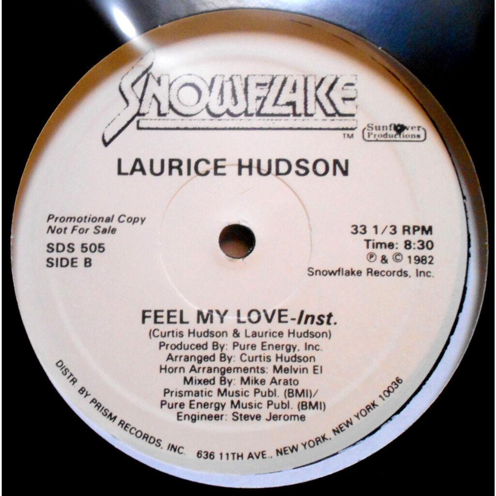 laurice hudson feel my love / feel my love (instrumental)