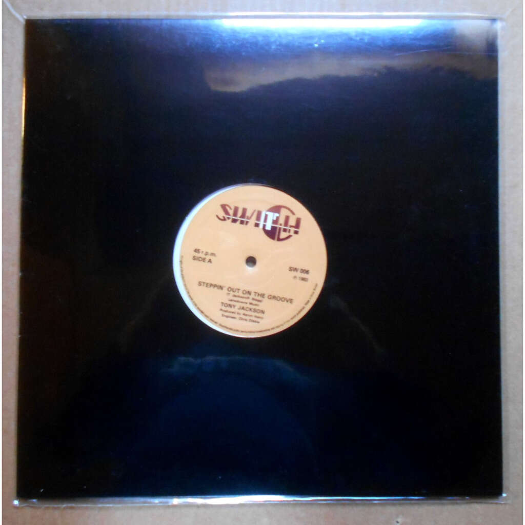 tony jackson steppin' out on the groove / steppin' out on the groove (instrumental)
