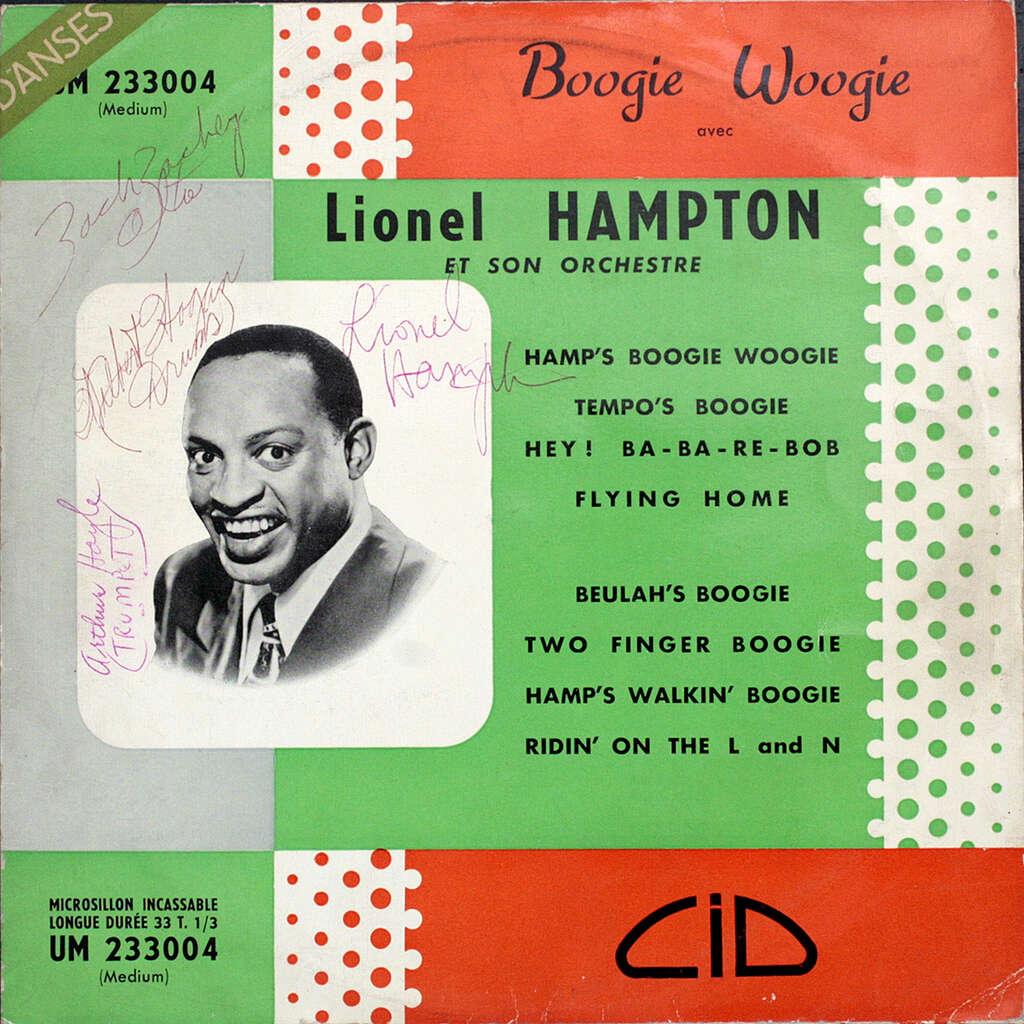 HAMPTON Lionel Boogie-woogie avec Lionel Hampton et son orchestre