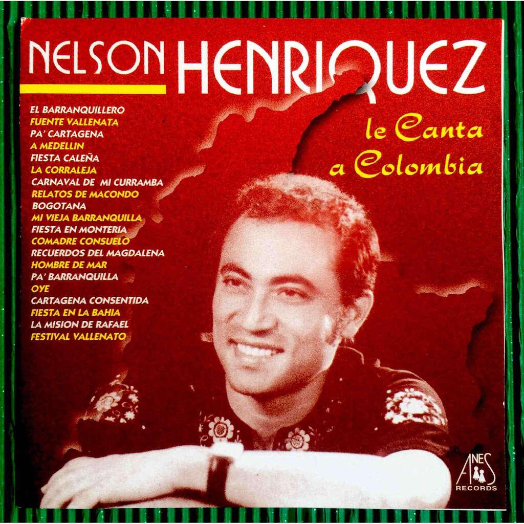Nelson Henríquez Le Canta A Colombia